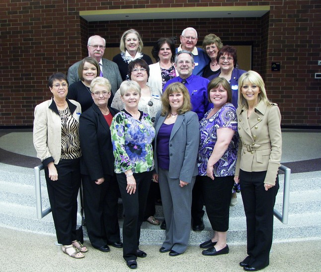 The 2012 HHSAA Board of Directors, with Superintendent Dr. Peggy Buffington