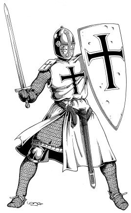 Knight With Shield In the Middle Ages a knightKnight With Shield