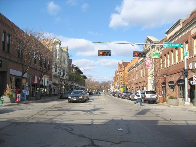 Oak Park Ave. Now