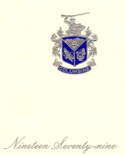 Columbine High School In Littleton Co: Columbine High School Class Of 1979, Littleton, CO
