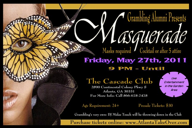 Grambling Alumni Masquerade Night