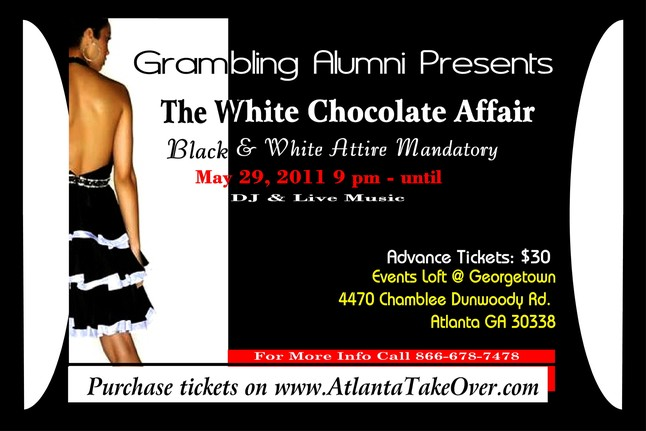 Grambling Alumni White Chocolate Affair