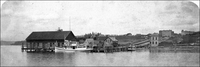 Bothell Steamer on Lake Washington
