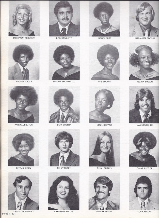 1975 Yearbook Photos Tom Cruise