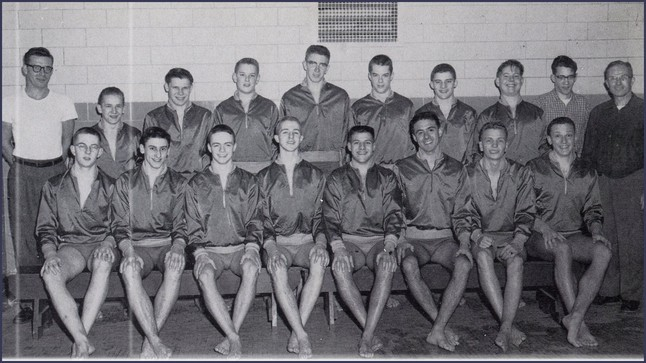 THS Swim Team 1958
