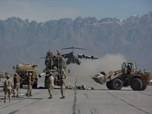 C-17 -- Cleared to land at Bagram Air Base