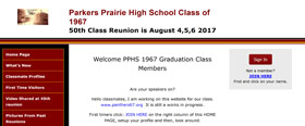 Parkers Prairie High School Class of 1967