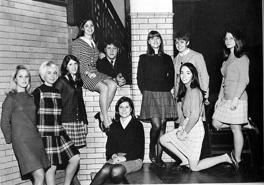 Senior Class Officers 1969